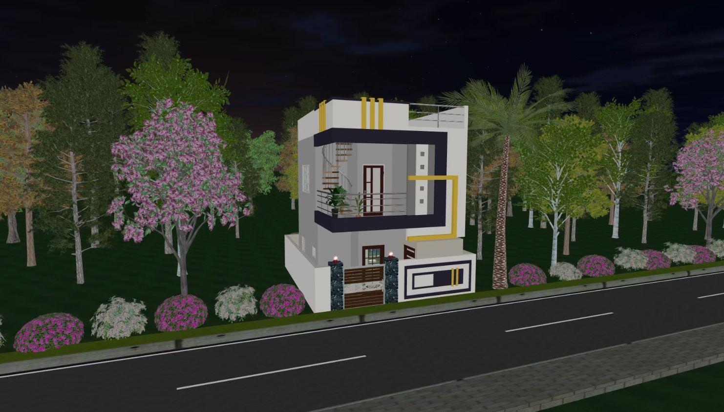 ap housing scheme model house